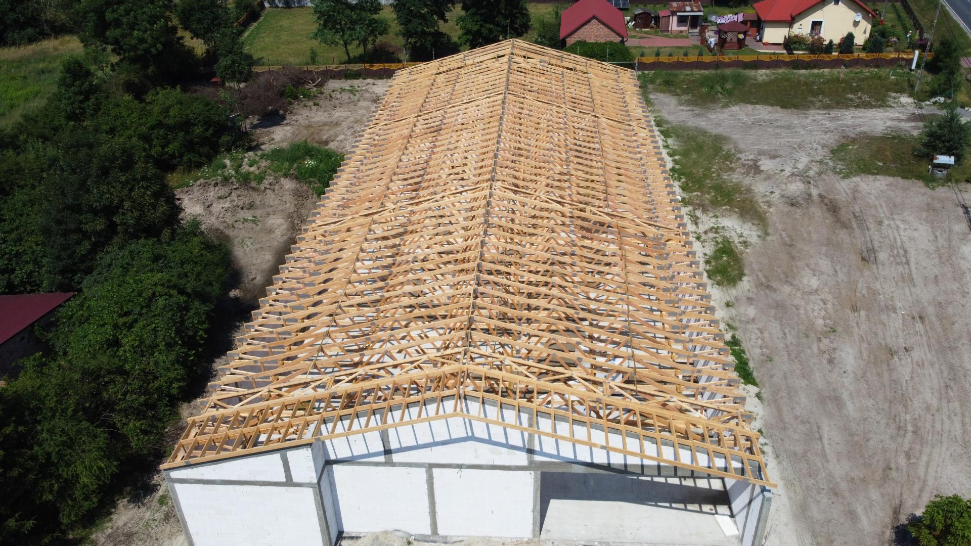 wiązary dachowe sawe